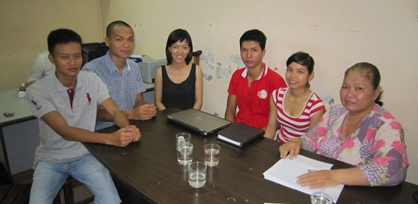2.Orientation meeting - 4share and ThienTamHuong